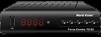World Vision Foros Combo T2/S2/C комбинированный цифровой ресивер
