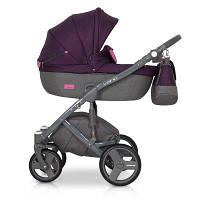 Детская универсальная коляска 2 в 1 Riko Vario 04 Purple (Рико Варио)
