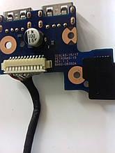 Кнопка включения c USB BA92-08350A Samsung NP305E5Z