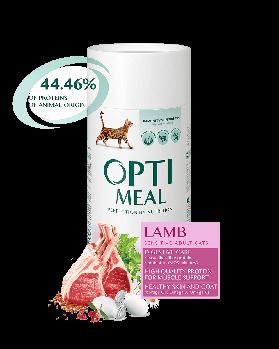 Сухой корм для взрослых кошек с чувствительным пищеварением Opti Meal 4 кг