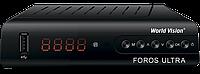 World Vision Foros Ultra Combo T2/S2/C комбинированный цифровой ресивер