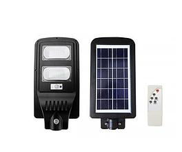 Уличный светильник LED на солнечной батарее FOYU 60W Черный (FO-5960)