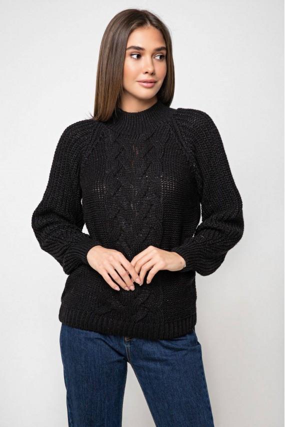Красивый вязаный свитер 42-48 размеры