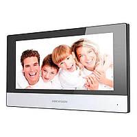 Комплект ip домофона hikvision  DS-KH6320-WTE1 и вызывной панели DS-KB8112-IM