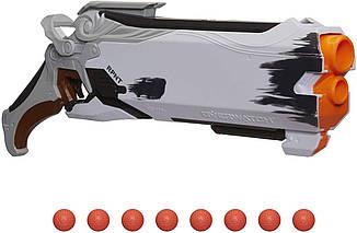 Бластер Нерф  Адский дробовик Жнеца Nerf Overwatch Reaper Rival Rounds Эконом Упаковка