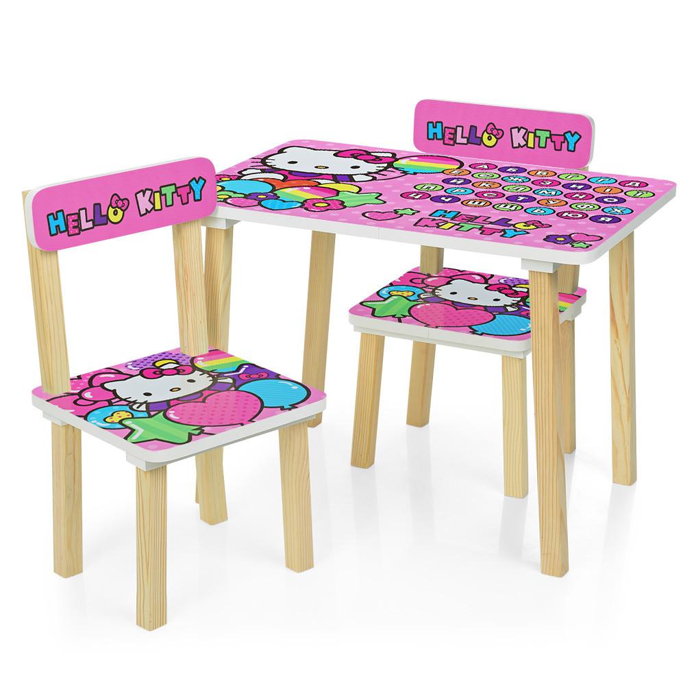 Детский стол с двумя стульчиками Bambi 501-49 Hello Kitty