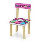 Детский стол с двумя стульчиками Bambi 501-49 Hello Kitty, фото 2