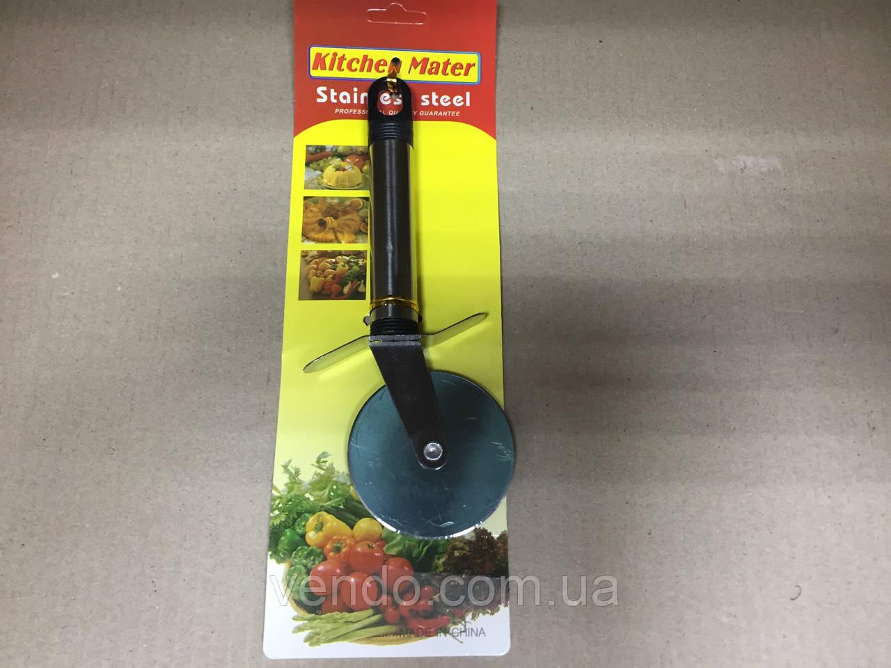 Нож для пиццы 18 см, d- 6 см