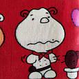 Плед детский размер 100*140 красный, фото 2