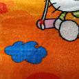 Плед дитячий 100*140 Кіті оранж, фото 2