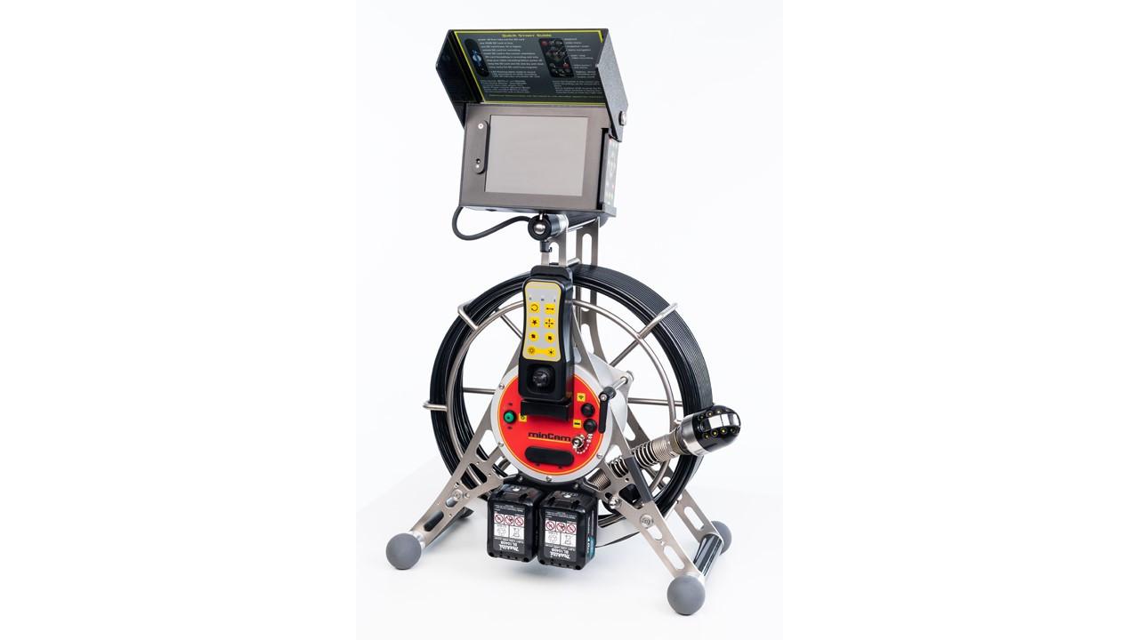 Система видеодиагностики трубопроводов minCam360 compact