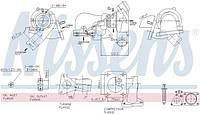 Турбина Форд Транзит (tt9) 2.4 tdci jxfc/jxfa/phfa 06-