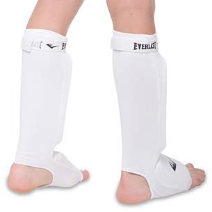 Защита для ног голени и стопы чулочного типа EVERLAST MA-4613 (XS, Черный), фото 2