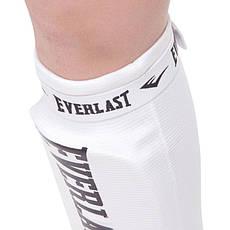 Защита для ног голени и стопы чулочного типа EVERLAST MA-4613 (XS, Черный), фото 3