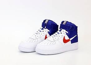Мужские кроссовки Nike Air Force High NBA Lakers