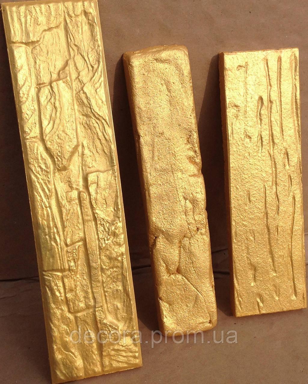 Золотая Краска под позолоту гипса, дерева, камня влагостойкая