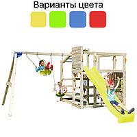 Многофункциональный игровой комплекс Blue Rabbit CROSSFIT + качели SWING (ігровий комплекс + гойдалка)
