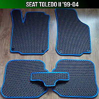 ЕВА коврики на Seat Toledo II '99-04. Ковры EVA Сеат Толедо, фото 1