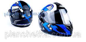 Шолом для мотоциклів Hel-Met 122 Blue (синій)