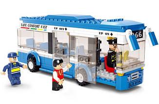 Конструктор SLUBAN серии Город Автобус M38-B0330, 235 деталей