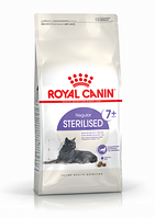 Корм для котов и кошек Роял Канин Royal Canin STERILISED 7+ 0,4 кг.
