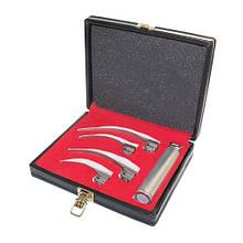 Набор обычный ларингоскопический Mc Intosh (со средней ручкой), набор из 4 клинков, J-13-151