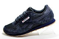 Кроссовки мужские в стиле Reebok Classic Leather, Dark Blue