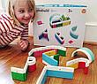 Магнітний конструктор Kid O Абетка у наборі 20 блоків (10454), фото 3