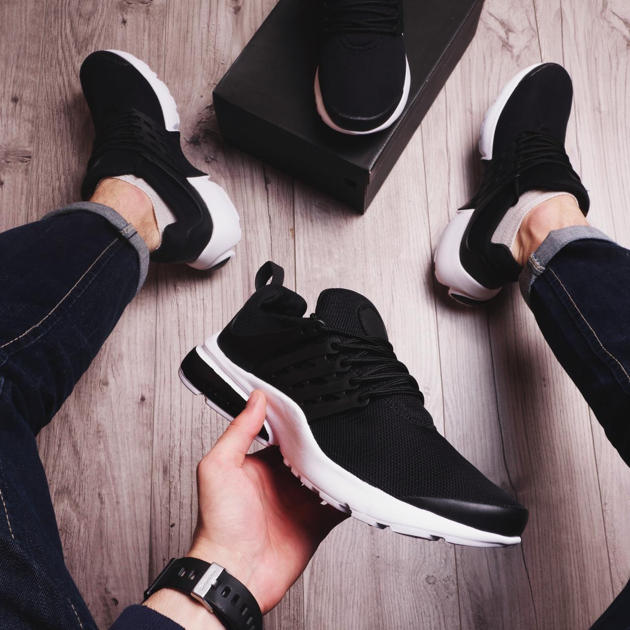 Мужские кроссовки Арт Престо черные