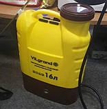 Опрыскиватель аккумуляторный Vilgrand 16 л, фото 2