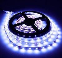 Світлодіодна стрічка IP-33, SMD3825 1м;60leds/m, 8мм*2,4 мм, 12Vdc, Ультра білий (25000К) Кратність різання 5
