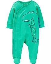 """Человечек Картерс """"Крокозаврик"""" хлопок 6м,9м"""