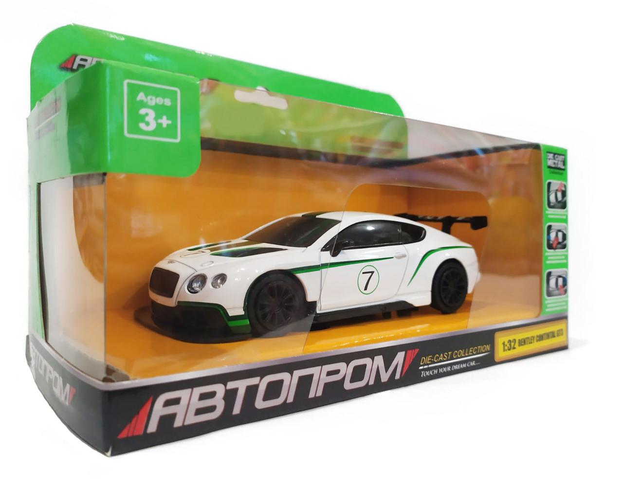 Металлическая модель Автопром Bentley Continental GT3, 7609