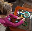 Магнітний конструктор Kid O Абетка у наборі 20 блоків (10454), фото 4