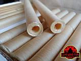 Коллагеновая съедобная оболочка ∅ 22мм, (Advanced, Белкозин) 15м гофротрубка 🇺🇦 , цвет натуральный, фото 5