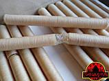 Коллагеновая съедобная оболочка ∅ 22мм, (Advanced, Белкозин) 15м гофротрубка 🇺🇦 , цвет натуральный, фото 6
