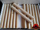 Коллагеновая съедобная оболочка ∅ 22мм, (Advanced, Белкозин) 15м гофротрубка 🇺🇦 , цвет натуральный, фото 7