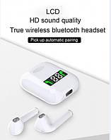 Беспроводные наушники TWS Bluetoothс дисплеем (i99), фото 5