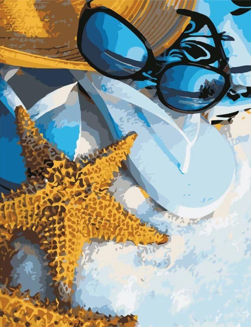 Картина по номерам Летний отпуск Art Story