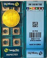 SPMT 120408 RBE TT9080 TaeguTec  пластина твердосплавная фрезерная