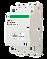 Модульный контактор MCF3 4p 20а 4NO 230V Promfactor