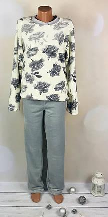 Женская теплая пижама Роза, фото 2