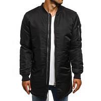 Куртка демисезонная мужской | бомбер весенний осенний АСОС x black ЛЮКС