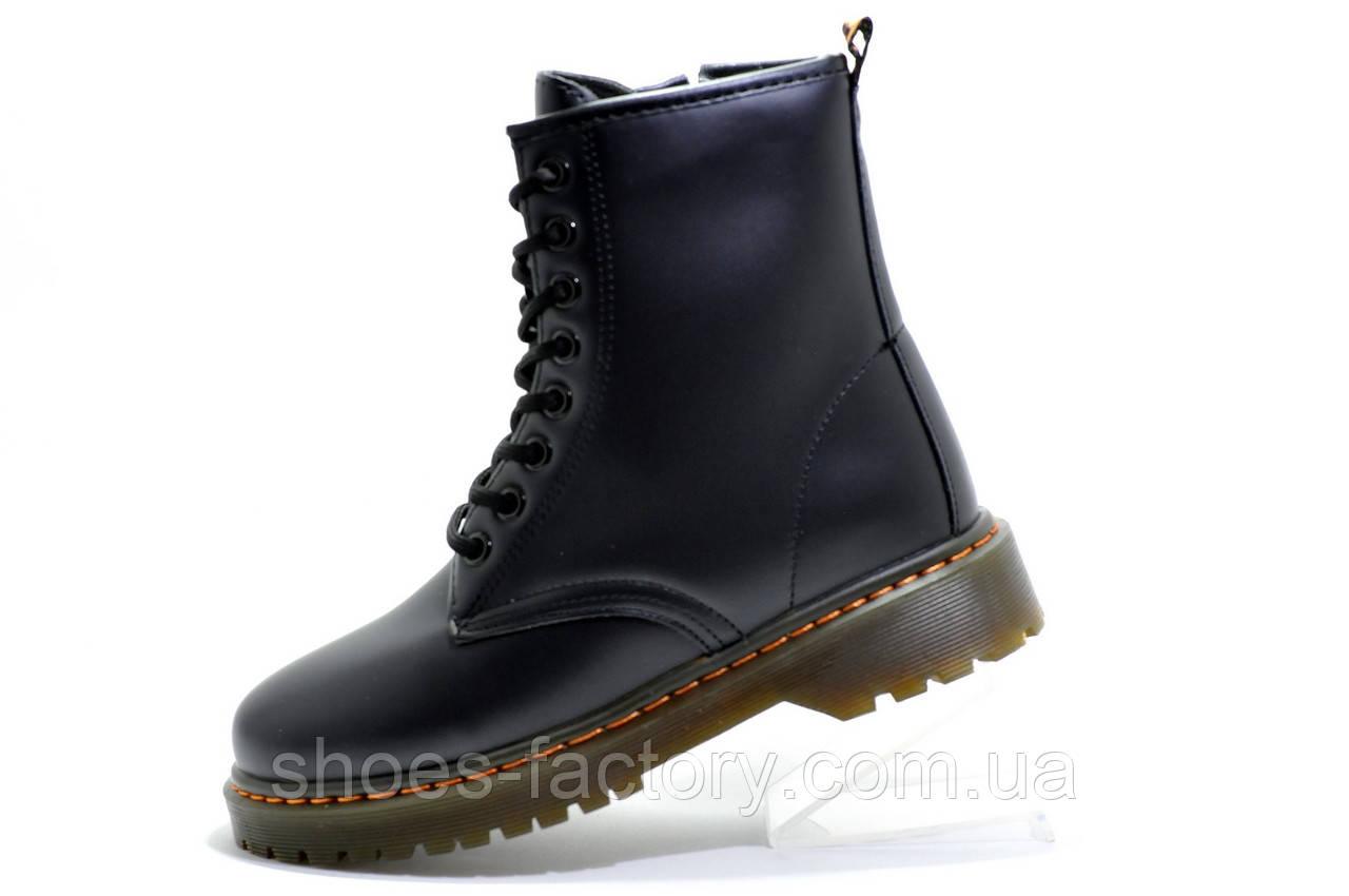 Осенние Ботинки в стиле Dr. Martens, Black