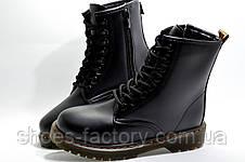 Осенние Ботинки в стиле Dr. Martens, Black, фото 3