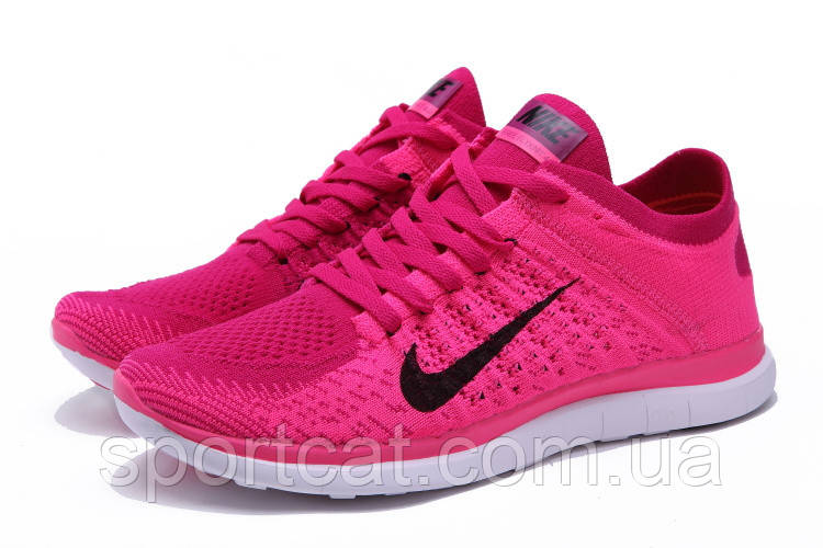 cdba26b8 Женские беговые кроссовки Nike Free Run Flyknit 4.0 розовые, цена 1 650  грн., купить Лубны — Prom.ua (ID#141883963)