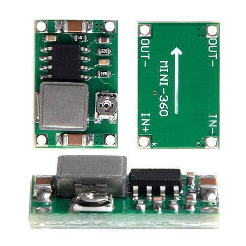 МИКРО понижающий преобразователь напряжения DC-DC MP2307 5-23В на 1-17В