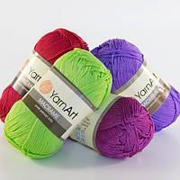 Трикотажная пряжа шнурок макраме YarnArt Macrame все цвета