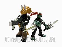 Набор мини-фигурок Рафаель и Трицератон - Raphael and Triceration, 4Kids, Playmates