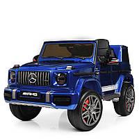 Детский электромобиль Джип Mercedes (Мерседес) M 4180EBLRS-4 синий с автопокраской